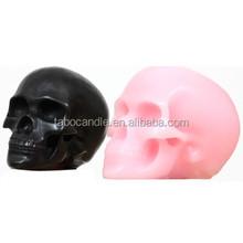 Handmade Skull Head Art Candles for Halloween