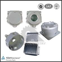 China Custom small anodized die cast aluminium profile enclosure box