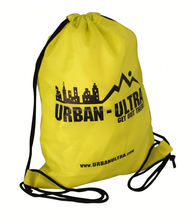Discount promotional 190T polyester bag drawstring custom polyester women/ teenagers drawstring bag for school/workout/walking