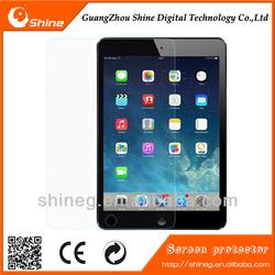 Wholesale price 0.33mm tempered glass screen protectorfor ipad mini/mini 3/air