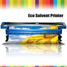 Cheap Cheapest large format eco solvent printer 1.8m