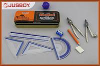 geometry set, mathematical set, mathematical instrument marshal brand