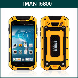 IMAN I5800 MTK6582 Quad Core 4.5 Inch Android 4.4 Rugged Waterproof Rugged Mobile Phone