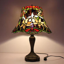 Hot tiffany crackle glass lamp shade