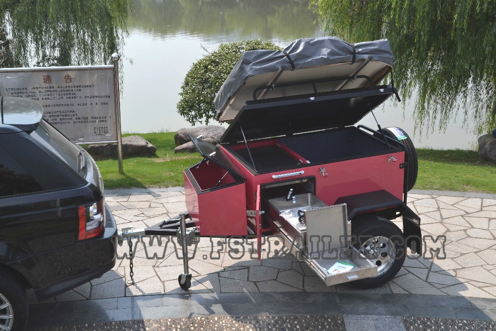 Innovative Small Camper Trailers For Awesome OffRoad Vacations Trailer Wrap