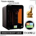 Re, certificado de RoHS 3d christian 3d 3d modelos de impresión de la impresora 3d makerbot mini pantalla táctil más caliente de la pluma de la impresora 3d