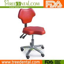 Tr-014 dentisit's/hygienist's anti- fatica sgabello sedia in microfibra con pelle utilizzata sedie dentista