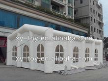 Best material 0.45mm PVC tarpaulin inflatable wedding tent/custom inflatable tent