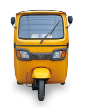 Quality and Quantity Assured Bajaj Passenger Tricycle Taxi for Sale