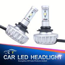 2015 Lattest DIY optional color led headlight 10000K H10 led lamp