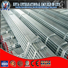 galvanized steel pipe bending/pre galvanized steel pip/ shelf tube/galvanized size F