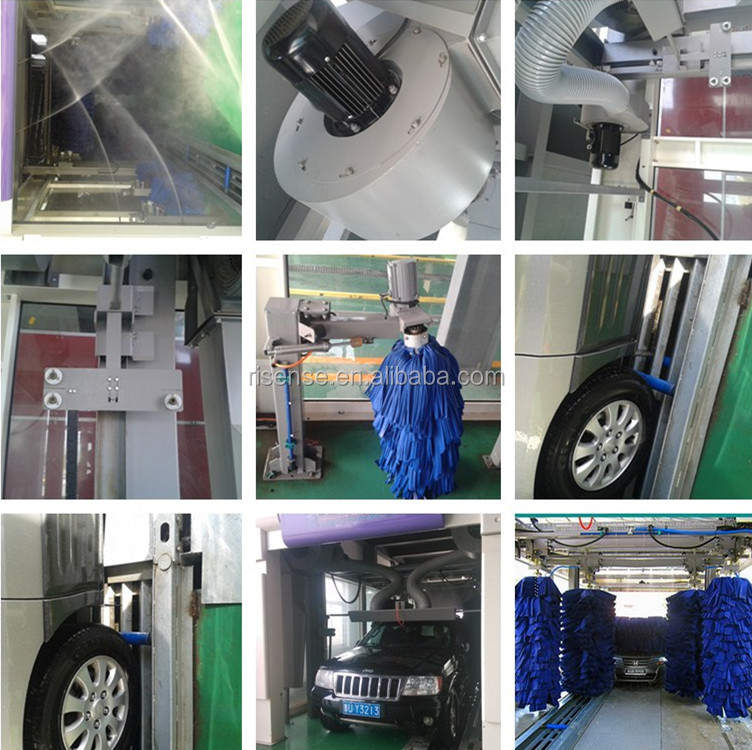 CC-690 Fully Automatic Tunnel Car Wash Machines For Sale