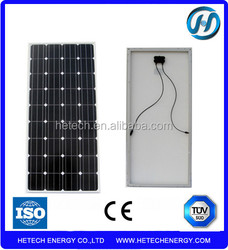 import A Grade solar panels Mono 130w chinese solar panels for sale
