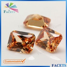 Champagne AAA Cubic Zircon Types of Rough Gemstone Wholesale
