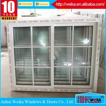 As your requirement With Ce ISO9001certificate pvc fixed grilles profile for windows and door