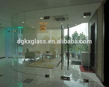 Templado de vidrio diseña para puertas de entrada de