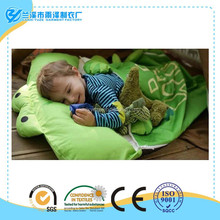 Hot Sell Organic 100% Cotton Cute Rabbit Design Baby Knitting Sleeping Bag Patterns