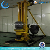 mobile Drilling Rig for 180 meters deep