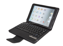 Smart Standing Keyboard Case Cover for iPad Mini