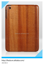 Natural wood case for ipad mini, Wood hard case for ipad mini