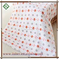 100% polyester knitting custom printed cheap polar fleece fabric