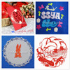 2015 hot selling wood arcylic leather paper 6040 Wedding Invitation Laser Cut machine