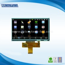 Fashionable digital 7.0 inch 1024x600 LVDS screen, small lcd display