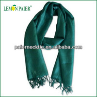 2015 New Design High Quality Solid Color Twill Silk Scarf 90x90
