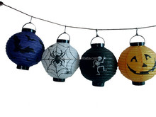Colorful Halloween plastic lantern for party accessories
