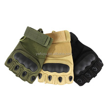 combat military half finger M L XL 3 colors tactical gloves can OEM logo also with your own packing