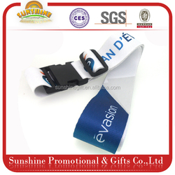 OEM cartoon solid luggage strap for kids