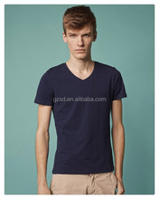 All brand name blank t-shirt supplier China custom t-shirt with short sleeves