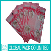 laminated material bags wholesale hair accessory small bags