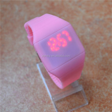 2014 best selling silicone watch,cheap promotion usb led watch