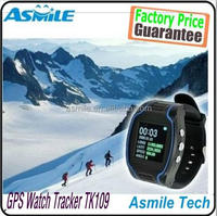 """1.5"""" LCD GPS/GSM /GPRS Watch Tracker TK109 Quad band with time display Wristwatch for Elderly and Children SG Post"""