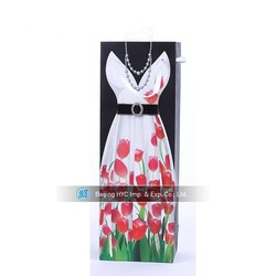 wholesale paper wine bottle carrying gift bag