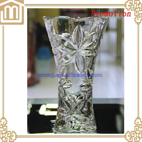Wholesale tall centerpiece vase cheap crystal long