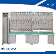 HS6103F Single Phase Double Loop Energy Meter Test Bench 48 Position