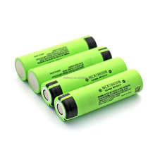 3400mAh NCR18650B 3.7V high capacity rechargeable Li-ion battery with high quality and good price