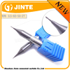 Small diameter solid end mills in cutting tools