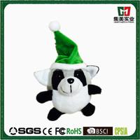 Animals modern cartoon plush stuffy toy christmas pendant plush toy panda