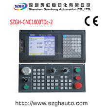 High-performance SZGH-CNC1000TDc-2 Two Axis Lathe CNC Controller