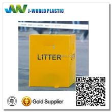 Customized portable household corrugated plastics waste bin manufacturer