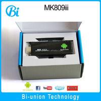 Factory Price !!! mini pc quad core MK809iii Android 4.2 RK3188 1.8Ghz mk809 III pre-installed xbmc quad core smart tv dongle
