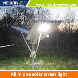 new products China factory led solar street light integrated solar street light all in one solar street light