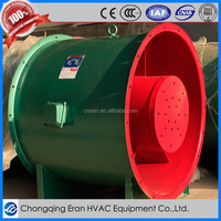 Commercial vaneaxial exhaust ventilation axial fan blower