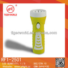 Promotion gift torch ABS rechargeable flashlight