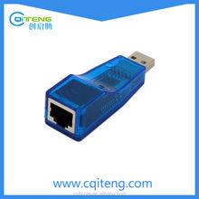 USB 2.0 Ethernet 10/100 Network LAN RJ45 Adapter