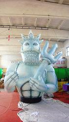 2015 customized giant inflatable sea dragon / all printing