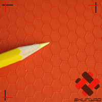 polyester hexagon football lattice oxford fabric honeycomb jacquard backpack material